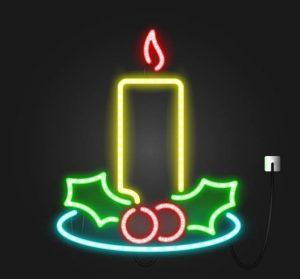 Luz de neón personalizada y flexible, hilo de neon casero, como hacer luces neon, como hacer un neon