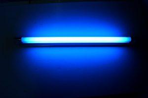 Lámpara luz de neón casera, barata y bonita, lampara de neon casera